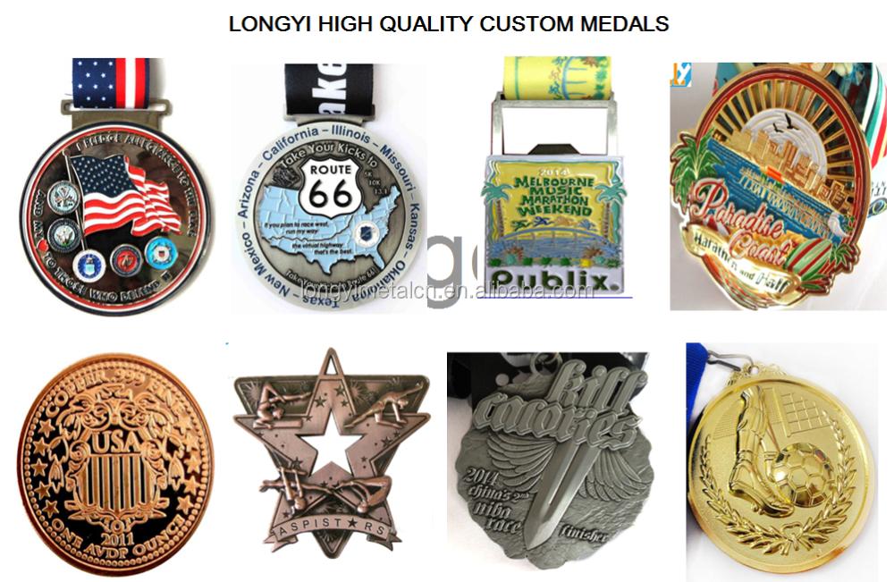 Custom Logo Metal Zinc Alloy Die Casting Medal For Sports Event ...
