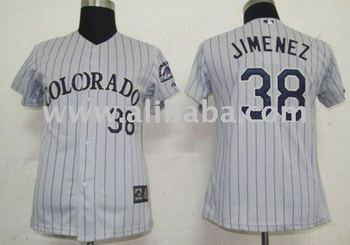 outlet store 2abd1 c8830 Baseball & Softball Wear Women Jerseys Colorado Rockies #38 Jimemez Grey -  Buy Softball Wear Jerseys Product on Alibaba.com