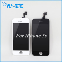 10PCS/LOT Display Screen Replacement For iPhone 5S Original LCD + Touch Digitizer Assembly Free Ship