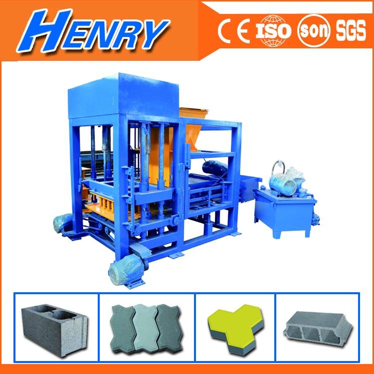 China Manufacturer Qt4-20 Small Production Line Concrete Brick And ...