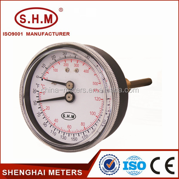 Cheap engine thermometer tempreature pressure gauge