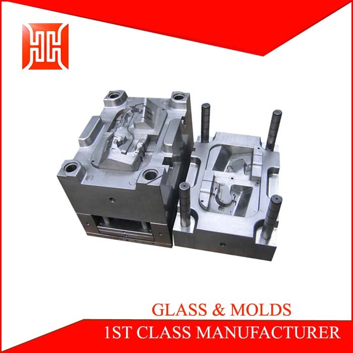 PVC / ABS / Nylon injection plastic moulding type raw material plastic parts