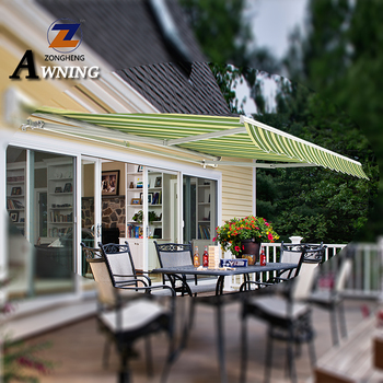 China Made outside awnings and canopies aluminum patio window with great price