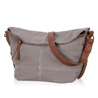Fashion Women Handbag Canvas Shoulder Bags Tote Purse Lady Messenger Hobo Bag