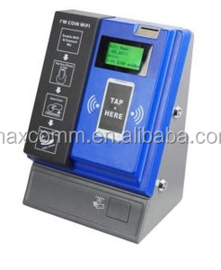 Tap Coin WiFi Hotspot Pay Terminal Kiosk share WiFi with RJ-45 Ethernet port or 3G/4G LTE network