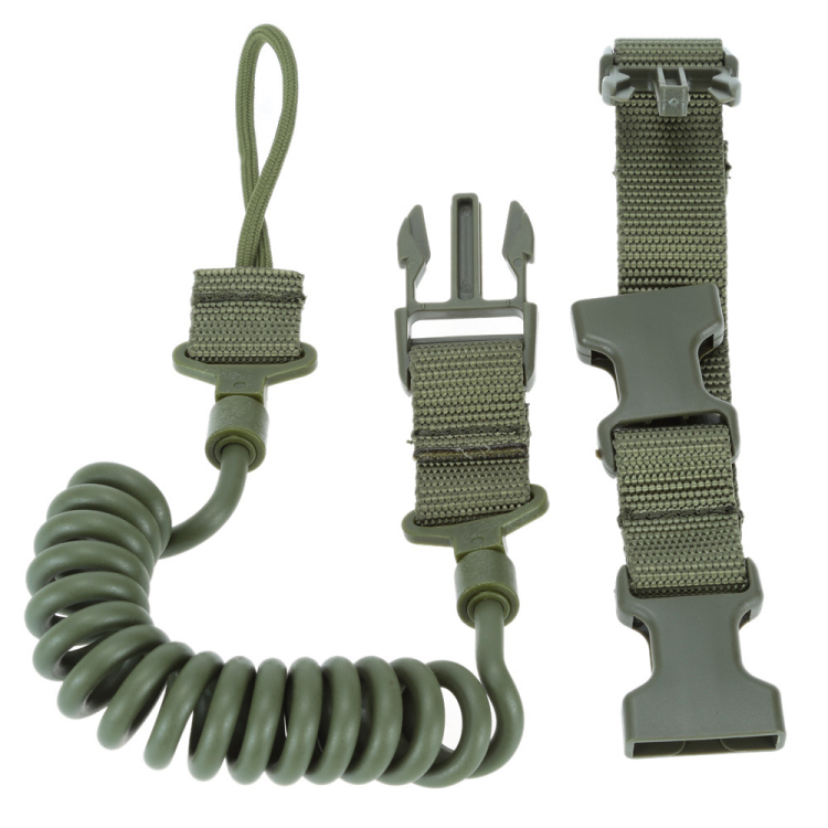 Tactical Two Point Airsoft Adjustable Bungee Rifle Gun Sling for Hunting