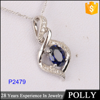 Custom 925 china handmade jewelry silver pendant parts wholesale