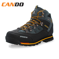 Men Leather Hiking Shoes Male Breathable Sport Mountaineering Shoes Fashion Durable Hiking Shoes