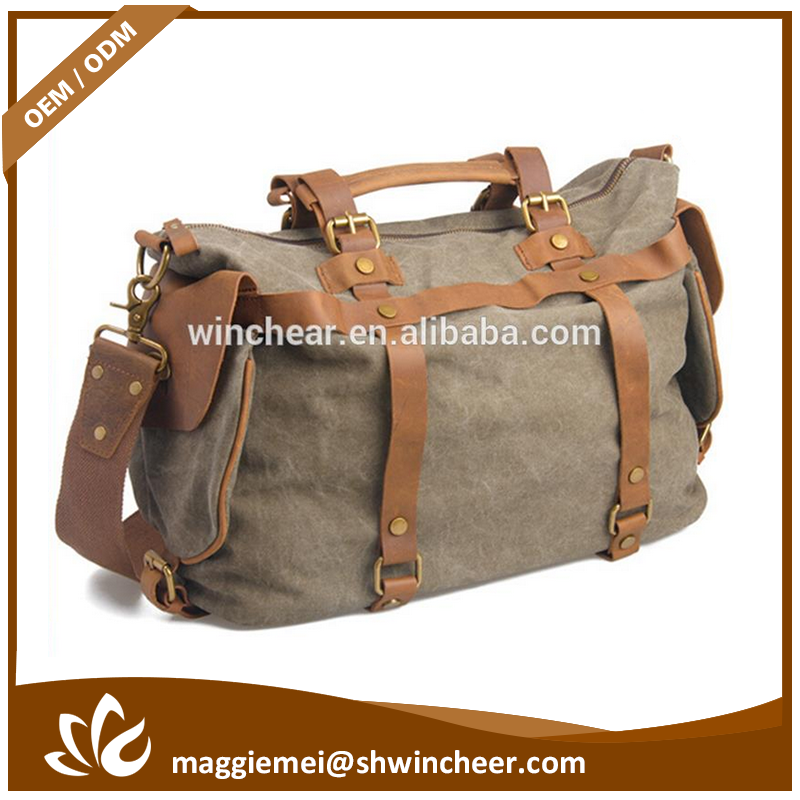 Oem canvas weekender bag, canvas bags handbag women, fashion tote bags