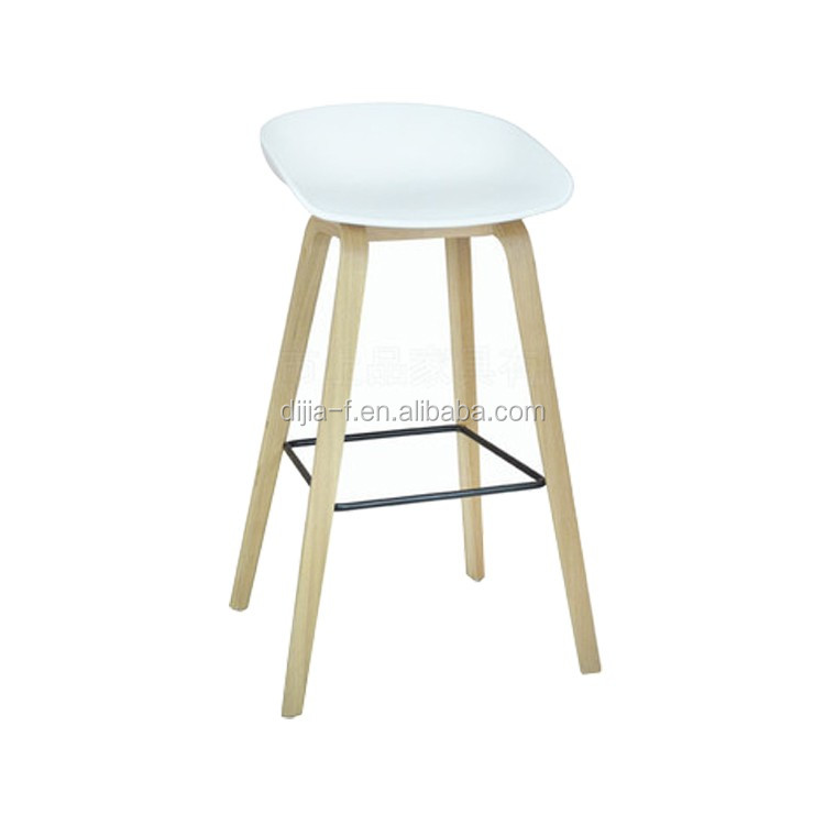 Wholesale Kitchen Counter Plastic Bar Stool with Wooden Legs  sc 1 st  Alibaba & Wholesale Kitchen Counter Plastic Bar Stool With Wooden Legs - Buy ... islam-shia.org