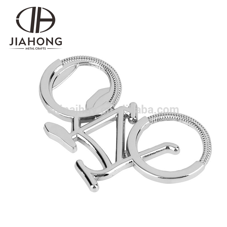 fast sale customized special stainless steel bicycle shape bottle openers