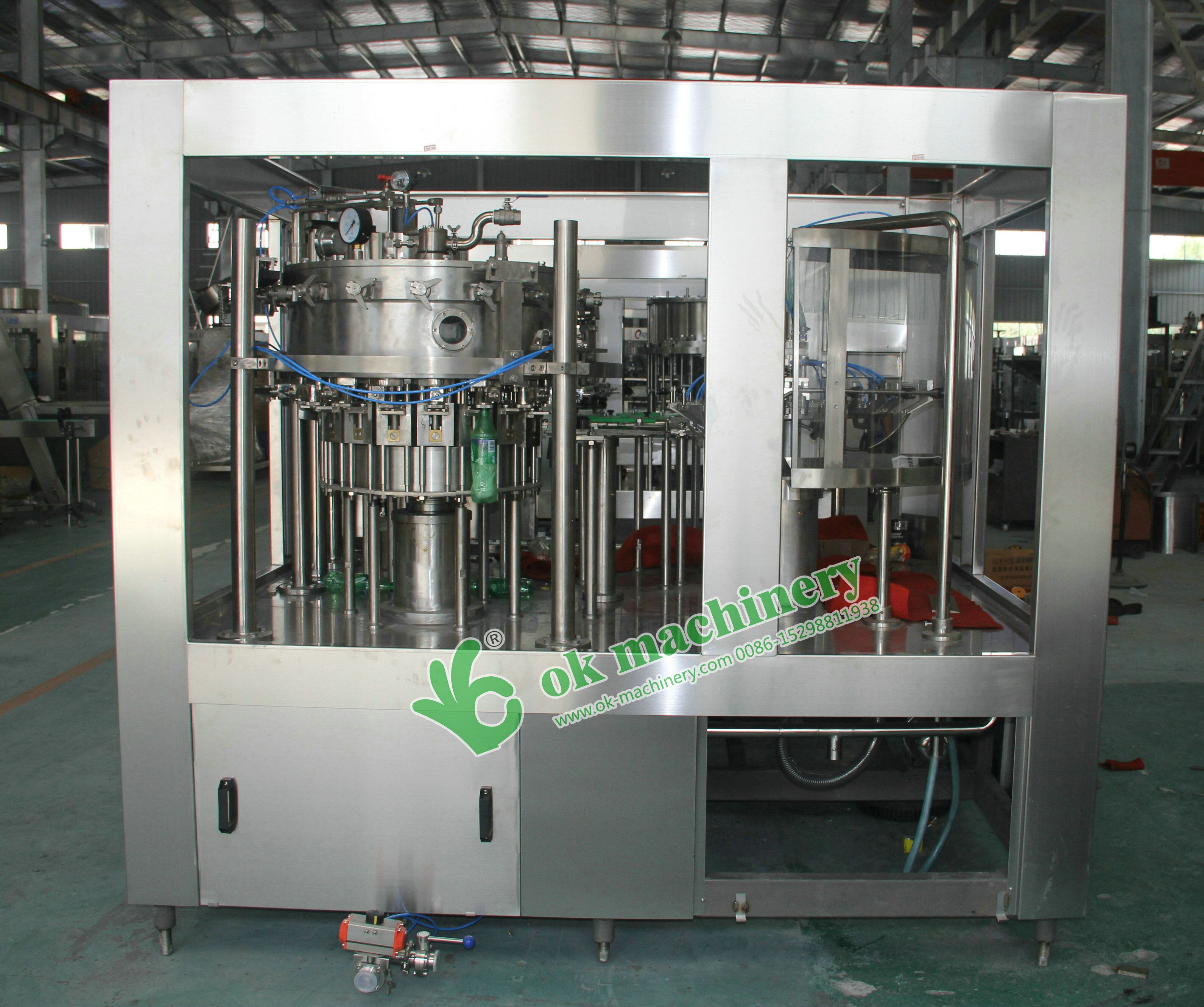 full automatic carbonated beverage filling machine with best price
