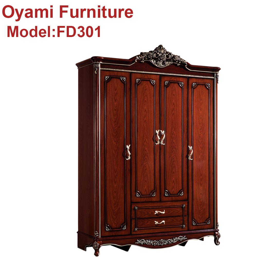 Antique Luxury Rococo European Baroque Bed French