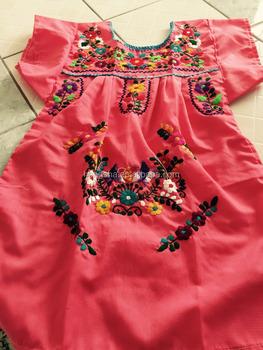 896e85b74e7d 2016 Boho Hand Embroidery Design Cotton Dress For Baby Gril Kids ...