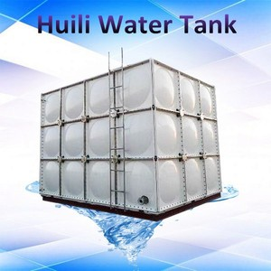 Hot sale!!! Dezhou Huili rain water ladder tank with red base