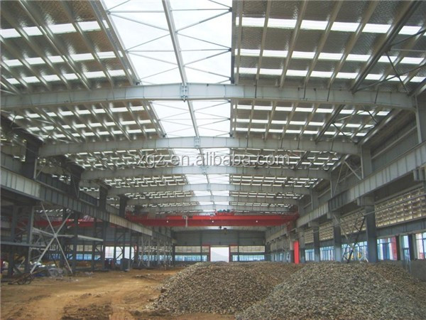 turnkey project industry customized prefabricated steel structure