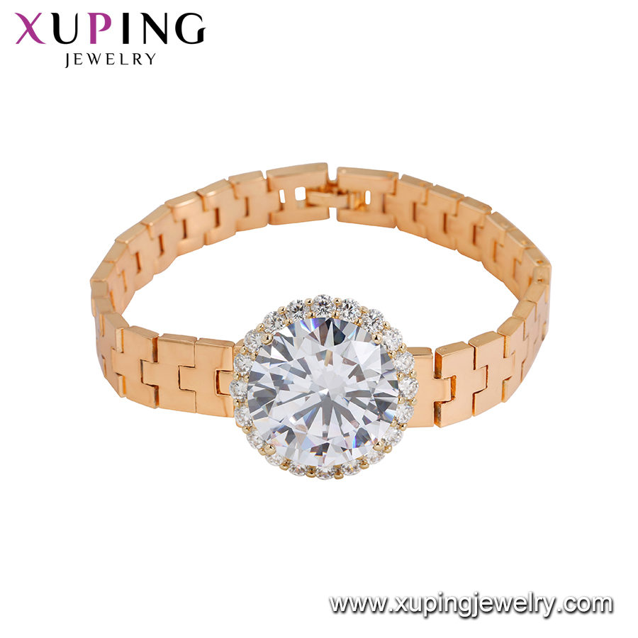 73549 Xuping Jewelry Fashion Trend Watch Bracelet With 18K Gold Plated bracelet