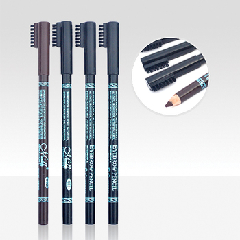 Menow Cosmetic P10021 waterproof eyebrow pencil with brush