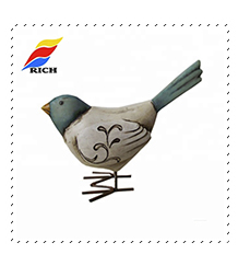 Best selling custom Resin bird figurine for home decor