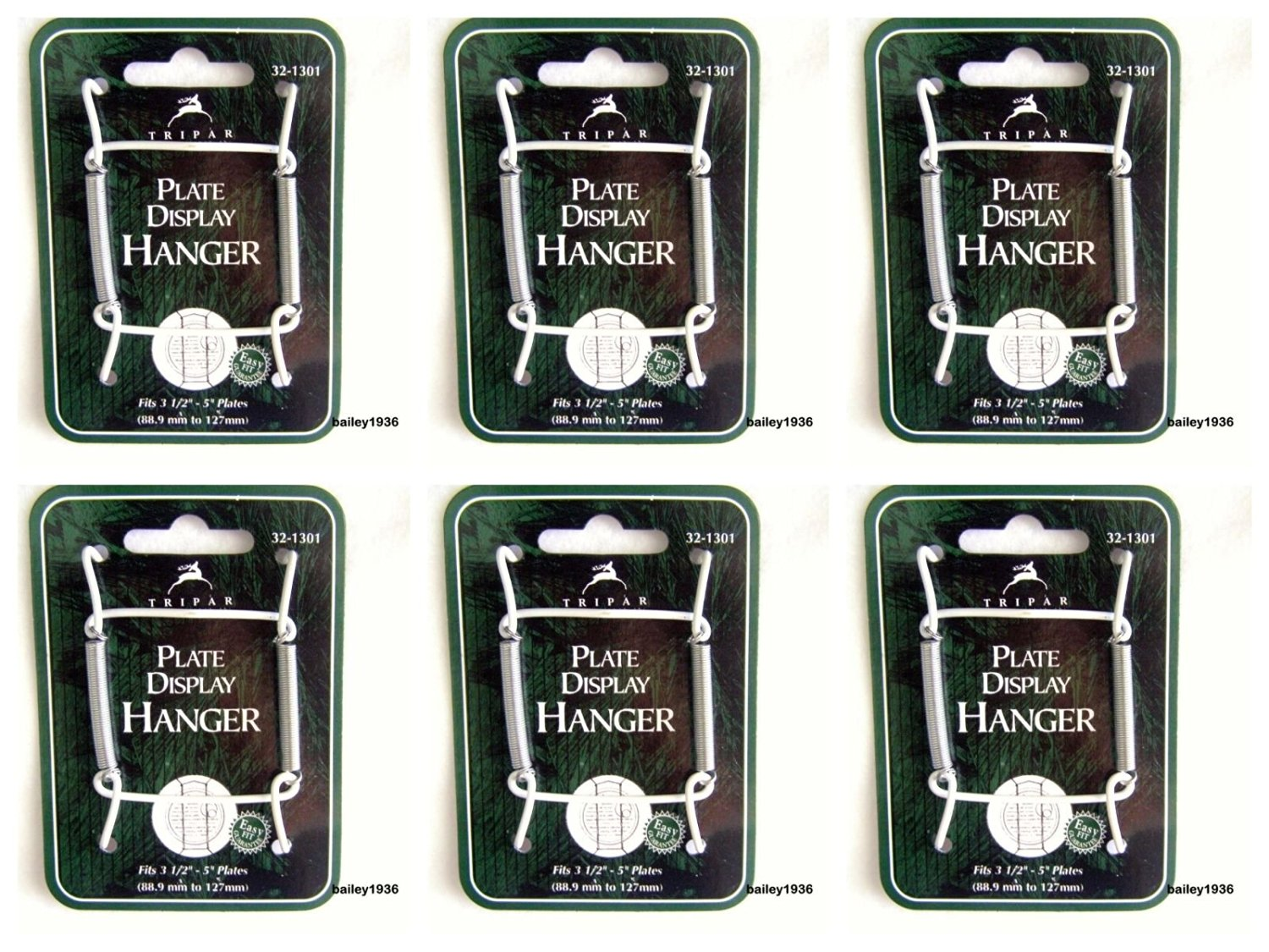 Get Quotations · (Ship from USA) (6) Plate Hangers 3-1/2\  & Cheap Large Plate Hangers find Large Plate Hangers deals on line at ...