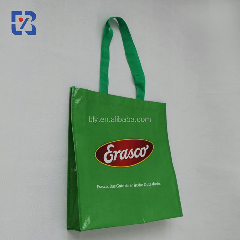 eco fashion pvc handle bag