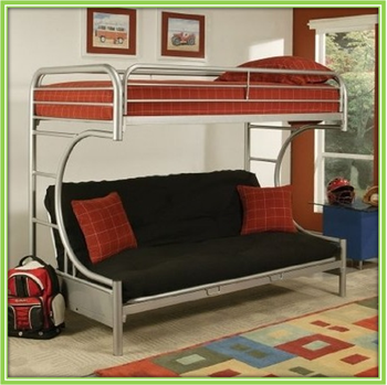 Metal Folding Sofa Bunk Beds , King Size Sofa Bed