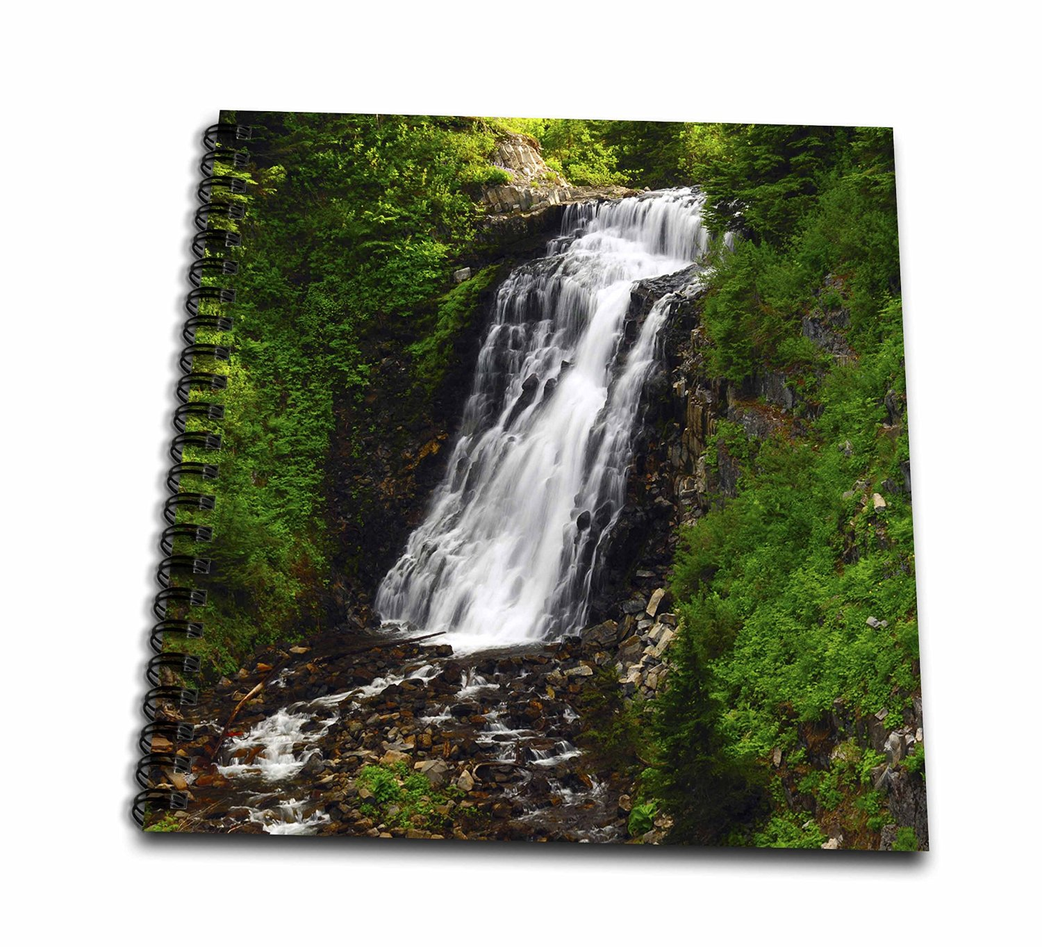 Danita Delimont - Waterfalls - Galena Creek Falls, Waterfalls, Washington, USA - US48 MHE0040 - Michel Hersen - Memory Book 12 x 12 inch (db_148382_2)