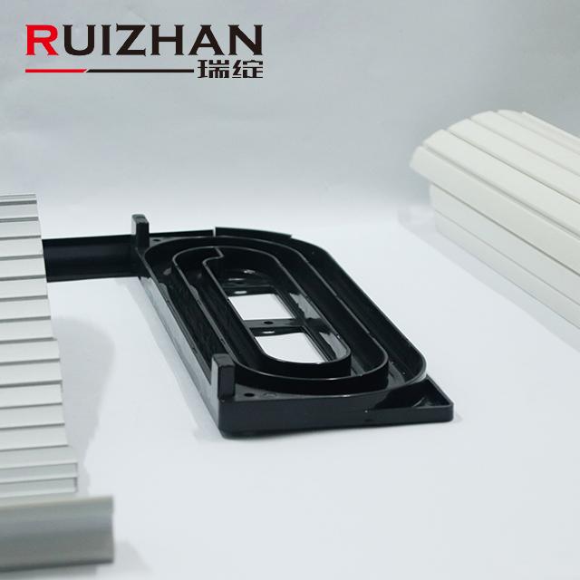 Furniture Plastic Extrusion Profiles Vertical Open PVC ABS Slats RV Slats Cupboard Tambour Door kitchen roller shutter door