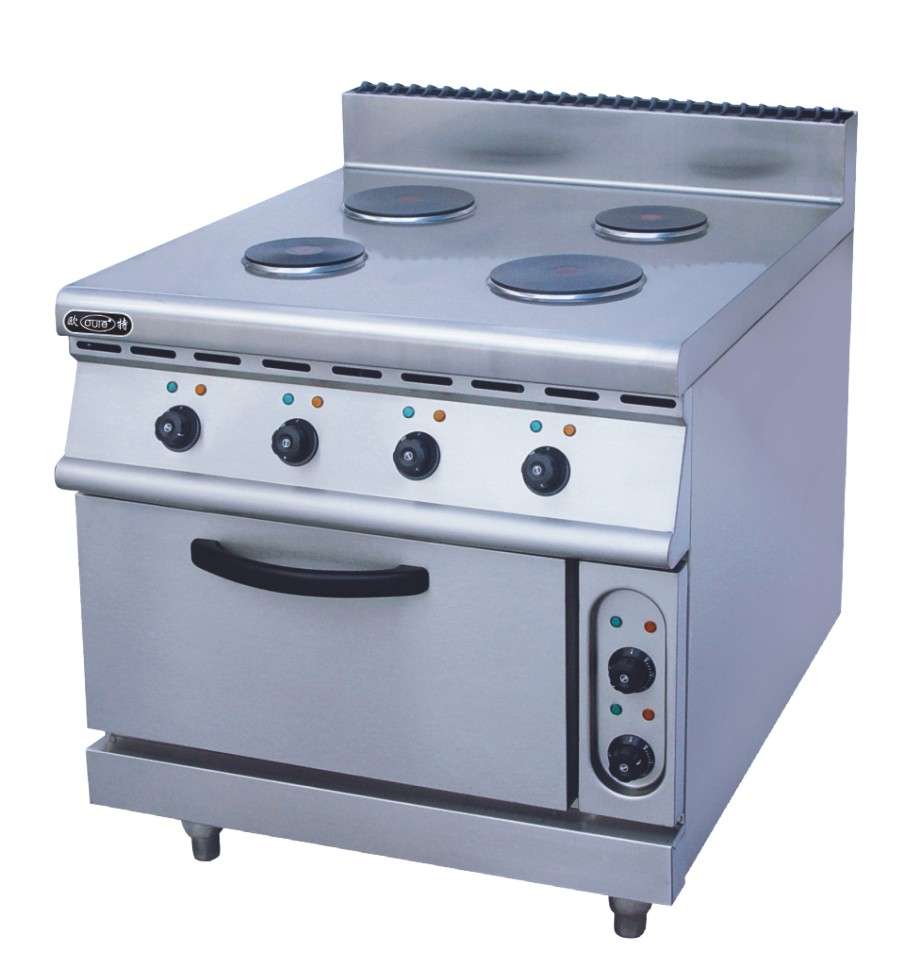 900Industrial Electric Oven With Metal Hot Plate 2 Temperature Control