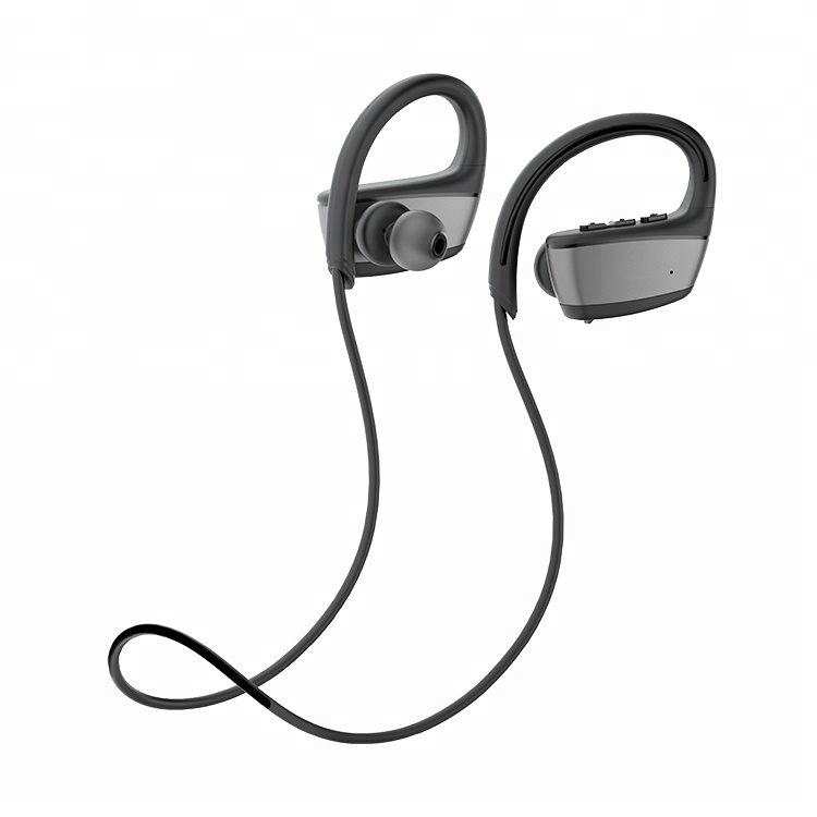 OEM ODM Bluetooth Headset In-ear Sport IPX7 Waterproof Wireless Earhook Earphone For Running Gym