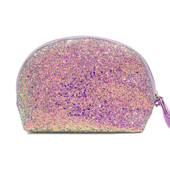 c685eb891f34 Sequin Glitter Makeup Bag Purse Cosmetic Pouch For Travel - Buy Sequin  Cosmetic Bag,Glitter Cosmetic Bag,Unicorn Makeup Bag Product on Alibaba.com