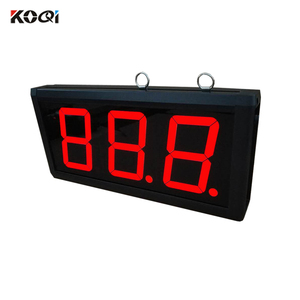 3-digit Display Receiver Wireless Calling Number System