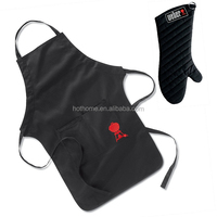 Barbecue Apron and Glove/Barbecue Set