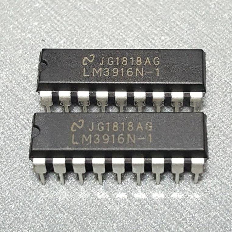Lm3916n-1 circuito integrato dip-18
