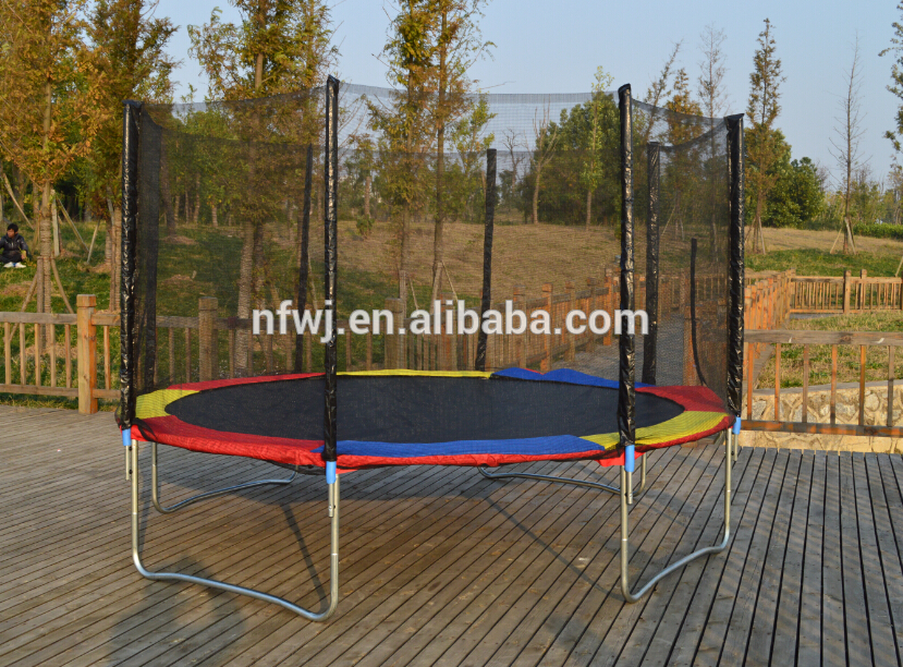 2013 hot sale gym equipment&entertainment commercial trampoline