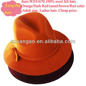 a73d9a1d558 Customized Ladies Flat Brim Fitted Hat For Women In Summer Or Party ...