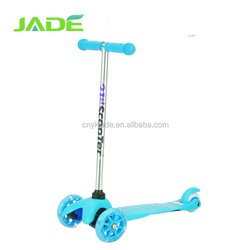 Pro Quality Flashing Baby 3 wheels Kick Scooter foot walking Scooter