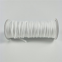 Various styles colorful custom round nylon package bag rope