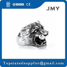 latest Promotional animal ring with red zircon