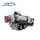 Latest technology Euro 4 new white vacuum cleaner truck for hot sale