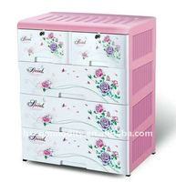 2015 hot selling plastic storage cabinet for baby