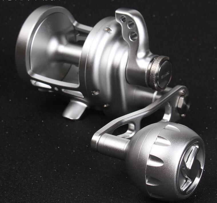 Quality 2 speed Saltwater slow Jigging Reel