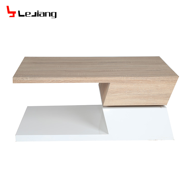 MDF top and cheap and swing wood coffee table