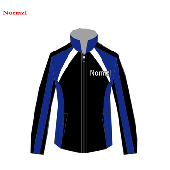 Sublimation Print Cheap Design Your Own Cheerleading Warm Up Jacket Custom Dance Jackets