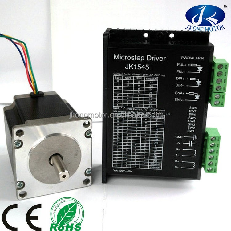 CNC machine kits Nema 23 Stepper Motor with driver JK1545