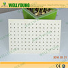 good price paper faced waterproof acoustic perforated suspengded gypsum ceiling board