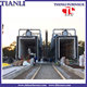 Large scale energy saving car bogie natural gas furnace