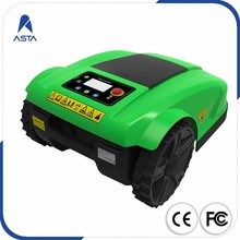 Popular 100 Meter Cable Automatic APP Remote Control Robot Lawn Mower