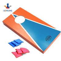 Mini wood bean bag toss game corn hole games children outdoor games