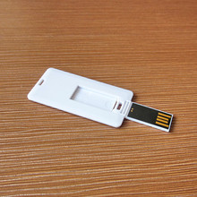 Cheapest Business /Mini Flip Card Shape Flash Card/Plastic Card Usb Flash Drive With Logo